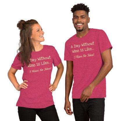 unisex staple t shirt heather raspberry front 60f4c6f2ec3fa