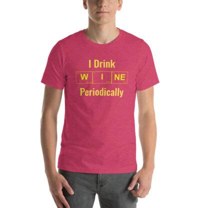 unisex staple t shirt heather raspberry front 60f4cb23311ed