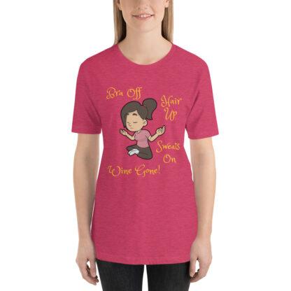 unisex staple t shirt heather raspberry front 60f4e43038bcb