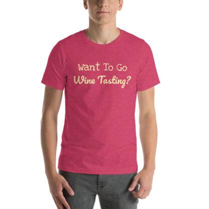 unisex staple t shirt heather raspberry front 60f58c40bbbda