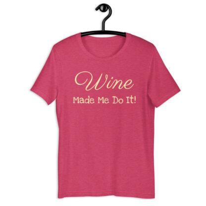 unisex staple t shirt heather raspberry front 60f58d331066a