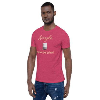 unisex staple t shirt heather raspberry left front 60ecf9406c151