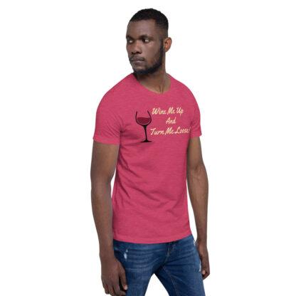 unisex staple t shirt heather raspberry right front 60ef34efe7649