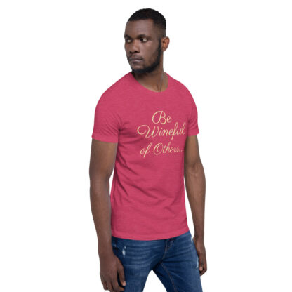 unisex staple t shirt heather raspberry right front 60f5f837eb6d8