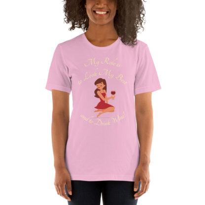 unisex staple t shirt lilac front 60ef65e6630ab