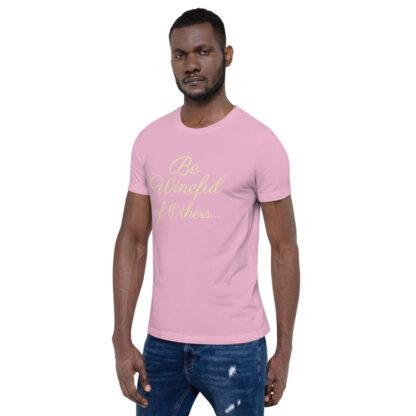 unisex staple t shirt lilac left front 60f5f837f1894