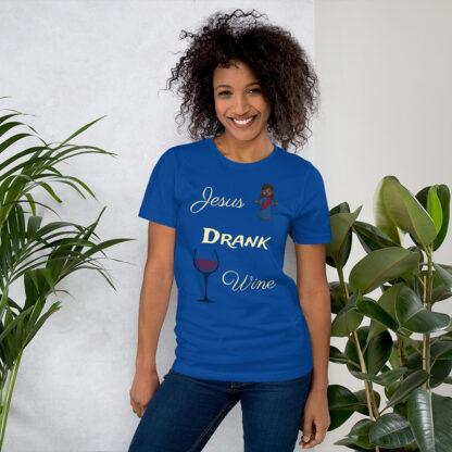 unisex staple t shirt true royal front 60ec8fd46d99a