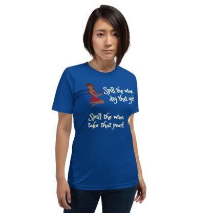 unisex staple t shirt true royal front 60ec9c4ab28a4