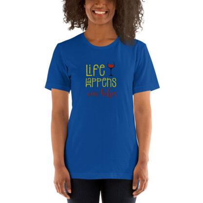 unisex staple t shirt true royal front 60ecd3bd98256