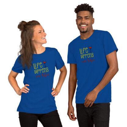 unisex staple t shirt true royal front 60ecd3bd989d3