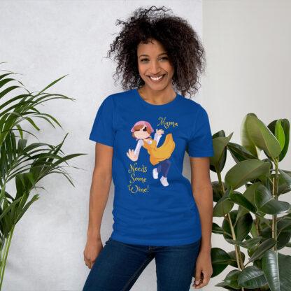 unisex staple t shirt true royal front 60f4d0d061831