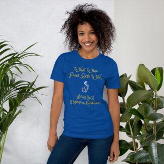 unisex staple t shirt true royal front 60f58e42c759c
