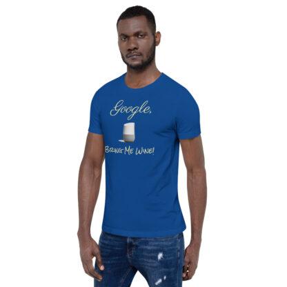 unisex staple t shirt true royal left front 60ecf9406b5b0