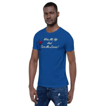 unisex staple t shirt true royal left front 60ef34efe4b48