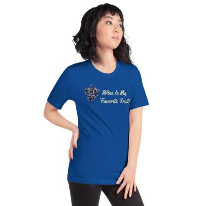 unisex staple t shirt true royal right front 60ef35ffdf135