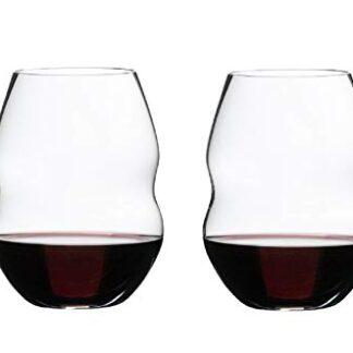 Riedel Clear Swirl Wine Glass