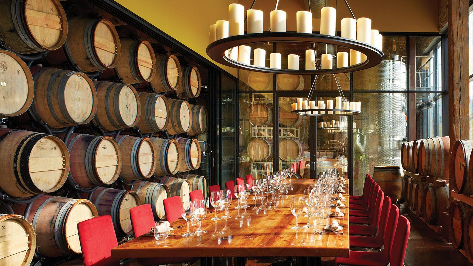 Trendy Restaurants and Wine