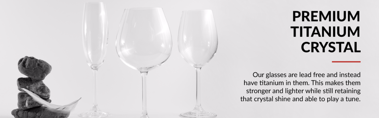 red wine glasses crystal glass 1d