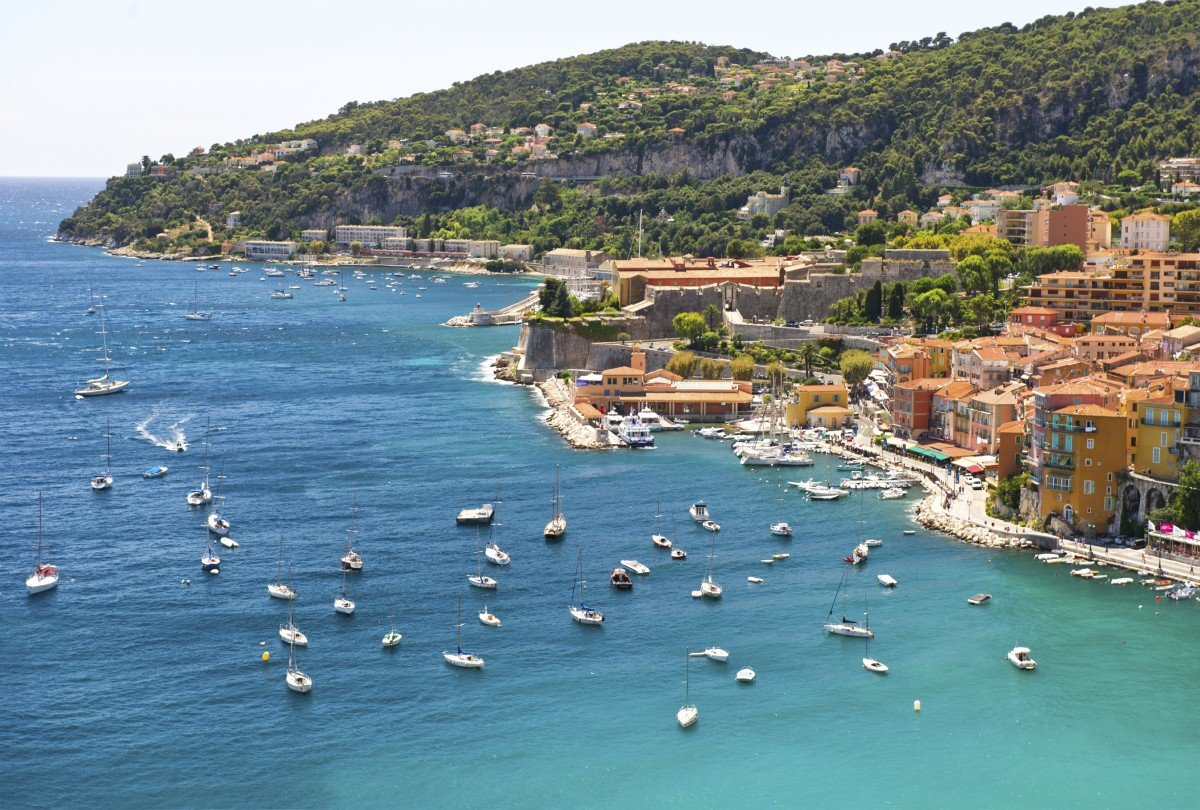 South of France View