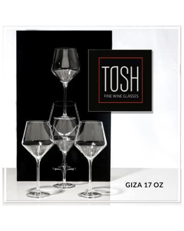 tosh wine glasses 1g